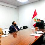 Gobernador pidió que Gobierno de Castillo priorice financiamiento de proyecto hídrico Parcco Chinquillay