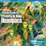 Entregan infraestructura de riego en tres sectores del proyecto Huanipaca en Abancay