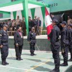 Gobernador Regional participa en ceremonia de reconocimiento del nuevo jefe de la VII Macro Región Policial