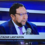 GOBERNADOR LANTARÓN NÚÑEZ: URGE MODERNIZAR LAS ESTRUCTURAS DE LAS REGIONES A NIVEL NACIONAL
