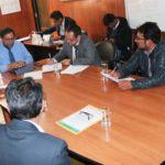 Gobernador Regional y alcalde de San Jerónimo de Andahuaylas priorizan obras