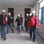 Gobernador Regional supervisa obra del Hospital de Andahuaylas