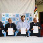 Gobernador Regional firma carta de intención con universidades de Apurímac
