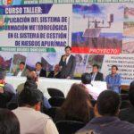 Gobierno Regional desarrolla Curso sobre Sistemas de Información Meteorológicas para la Gestión de Riesgos y Desastres