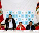 Comisión de alto nivel del gobierno central se reúne con autoridades de Apurímac