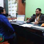 GOBERNADOR BRINDA DECLARACIONES EN ANDAHUAYLAS