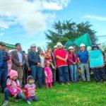 GOBERNADOR DE APURÍMAC COLOCA PRIMERA PIEDRA PARA EL MEJORAMIENTO DE ALDEA INFANTIL EN ANDAHUAYLAS