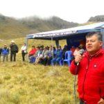 Gobierno Regional de Apurímac inauguró las represas Alfallaccocha y Quequeraccocha