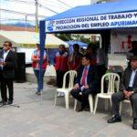 Dirección Regional de Trabajo realizó exitosa Feria Informativa Laboral Y CERTIJOVEN en Abancay
