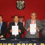 Gobierno Regional de Apurímac y UTEA firman convenio de cooperación interinstitucional