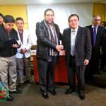 Gobernador de Apurímac presenta a nuevo Director de la UGEL Andahuaylas