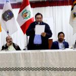 Levantan paro en Vilcabamba - Grau por acuerdos de mesa de diálogo en la región Apurímac