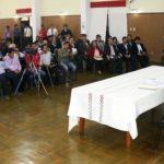 Baltazar Lantarón brinda informe de avance de gestión y presenta a nuevo gerente general