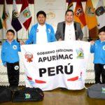 Gobierno Regional se identifica con niños ajedrecistas apurimeños que representan al Perú en el panamericano de Ecuador