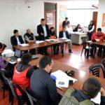El grupo de trabajo y la plataforma regional de Defensa Civil- Apurímac, efectuaron la simulación por incendios forestales