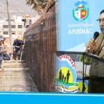 Gobernador de Apurímac, Baltazar Lantarón solicita priorizar contratación de mano de obra regional