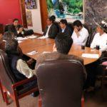 Gobernador de Apurímac y autoridades de Abancay definen actividades sobre el relleno sanitario de Quitasol