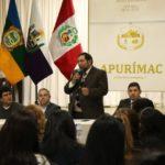 Gobierno Regional inicia actividades para el Proyecto Anemia Cero en Apurímac