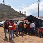 Grupo de trabajo y plataforma regional de defensa civil Apurímac, redoblan esfuerzos a fin de mitigar polvareda del cerro Chamanayoc