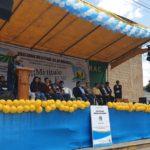 Gobernador regional entrega títulos de propiedad a beneficiarios del sector Sondor en la provincia de Andahuaylas