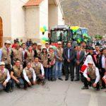 Gobernador Regional entregó tractores agrícolas para agencias agrarias de Apurímac