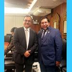 Gobernador Baltazar Lantarón se reunió con Ministro de Economía y Finanzas en Lima