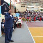 Gobernador de Apurímac entrega mantenimiento de losa deportiva y cobertura en I.E. Nuestra Señora del Rosario de Abancay