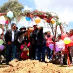 Gobernador de Apurímac inicia obras de instituciones educativas Iniciales en distrito de José María Arguedas de Andahuaylas