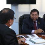 Ministro de Agricultura, Jorge Montenegro, presentará ante Presidente Martín Vizcarra proyecto hídrico Parcco Chinquillay