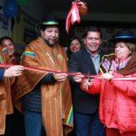 Ministra de Salud y Gobernador Regional inauguran Centro de Salud Mental Comunitario en Chincheros Apurímac