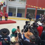 Presidente Vizcarra y Gobernador de Apurímac inauguran Centro de Articulación Terrestre de Chuquibambilla en Grau