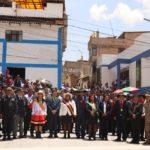 Gobernador de Apurímac participa en actividades por el Centenario de la provincia de Grau