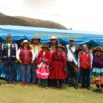 Gobernador de Apurímac y alcalde de Capaya inauguran obras en Huaccasa del distrito de Capaya