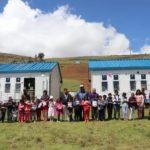Gobernador Regional de Apurímac participa de entrega de aulas prefabricadas a la I.E. Allpachaca en Abancay