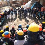 Gobernador Regional de Apurímac inspecciona avance de obras en Andahuaylas