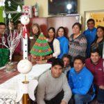 Dirección Regional de Vivienda organiza concurso de motivos navideños con material reciclado