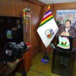 Gobernador de Apurímac oficializó entrega de 3000 bienes de ayuda humanitaria a poblaciones vulnerables