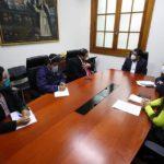Premier Zeballos y Gobernador Lantarón fortalecen acciones conjuntas frente a la COVID-19 y la reactivación económica en Apurímac