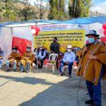 Ampliación de obra vial unirá tres distritos en Andahuaylas