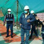 Obras reactivadas del GORE Apurímac cumplen estricto control sanitario