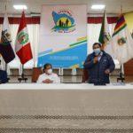 Gobernador regional solicitó megaoperativos de control en instituciones públicas de Apurímac a contralor Nelson Shack