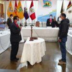 Juramentó nuevo consejero regional por la provincia de Andahuaylas