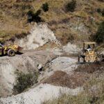 Continúan los trabajos de construcción de la vía Pampallacta - Ancobamba en Aymaraes