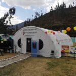 Baltazar Lantarón inspeccionó Módulo de Atención Temporal en Chalhuanca