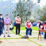 GORE Apurímac y pro desarrollo coordinan más proyectos de riego con autoridades del Centro Poblado Micaela Bastidas de Abancay