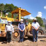 """Gobernador Regional de Apurímac dio inicio a la obra del Proyecto Turístico """"Boulevard Pampas"""""""