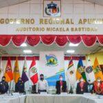 Consejo Regional de Apurímac, Arequipa e Ica toman acciones para proyecto de ley de autonomía presupuestal