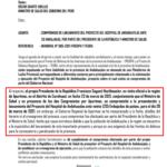 MINSA reprogramó presentación de proyecto de Hospital Andahuaylas a embajadas