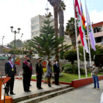 Autoridades de Apurímac participaron en izamiento del Pabellón Nacional a media asta