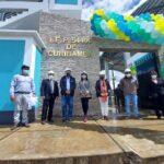 Imponente infraestructura educativa de Curibamba fue inaugurada en Andahuaylas